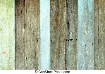 Old Wood Wall Background.