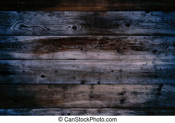 Old wood wall night background