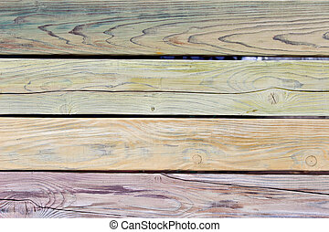 Old wooden background as texture