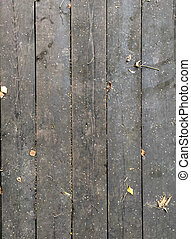 Old wooden background made of boards