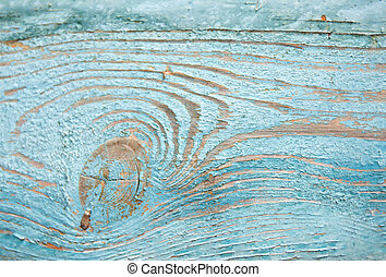 Old wooden background. Wood texture painted blue closeup. Vintage wood.