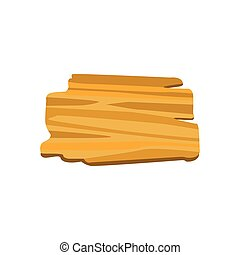 Old wooden board for banners or messages