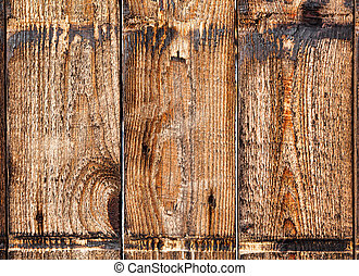 Old wooden boards. Background.
