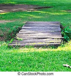 Old wooden bridge 2