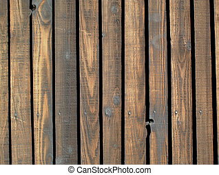 wooden brown fence background