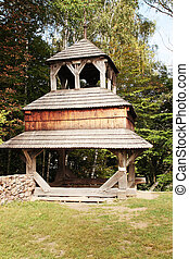 Old wooden chapel