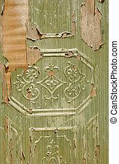 old wooden door texture detail