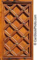 old wooden door texture