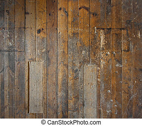 Old wooden floor or wall