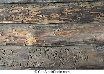 Old Wooden For Background