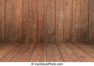 Old wooden interior texture background