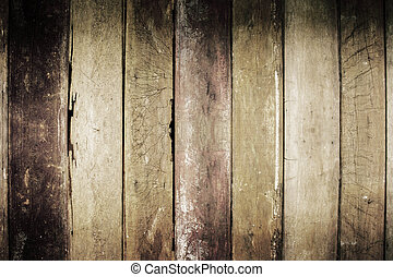 Old wooden of background.