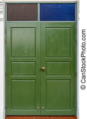 old wooden old doors background texture