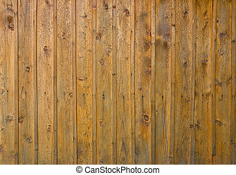 Old wooden plank background with nails