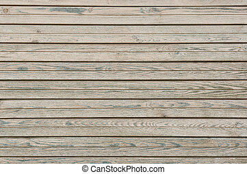 Old wooden planks board