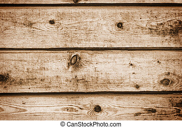 Old wooden planks grunge background.