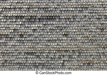 old wooden shingles as harmonic background