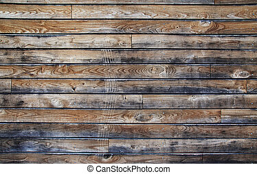 Old wooden structure as textured background.