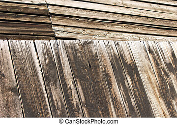 Old wooden texture background with boards