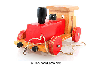 Old wooden toy