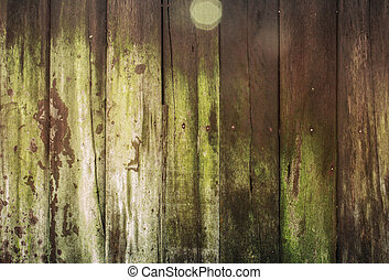 Old wooden with texture.