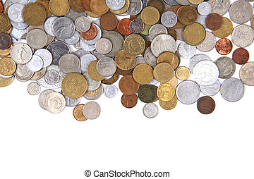 old world coins texture
