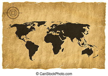 Old world map illustrations and clip art 9403 old world map old world map stock illustrationby gumiabroncs Images