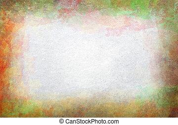Old worn grunge paper background