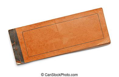 Orange Booklet
