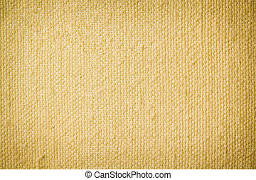 Old yellow canvas background