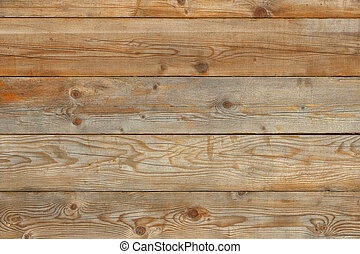 Old yellow pine natural barn wall wood background