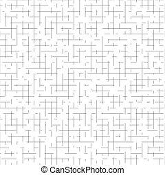 Olden grid seamless pattern. Subtle grunge background