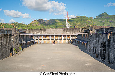 Older Fortress in Port Louis - Ancient fortress located in ...