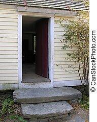 Home doorway.