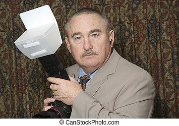 older wedding photographer