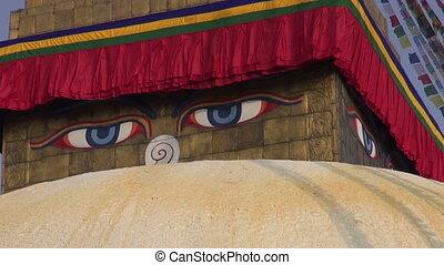 Boudhanath Stupa in Kathmandu - oldest and biggest buddhist...
