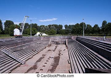 oldest dry dock still working in Holland