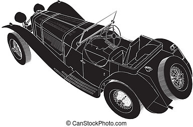 Oldsmobile Car Vector