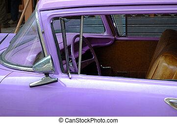 Oldtimer detail - Detail of vintage classic american car ...