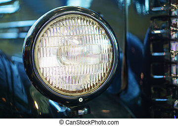Oldtimer, vintage light car in classic style