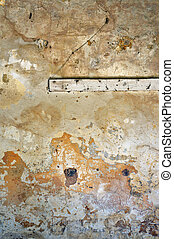 crumbling wall - ?oldy crumbling wall texture. Abandoned...