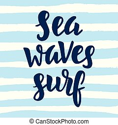 oleaje, ondas, mar
