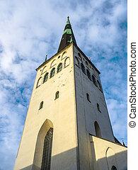 (oleviste), olaf, church., st, tallinn, estónia