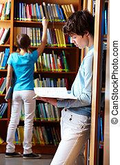 olhando, livros