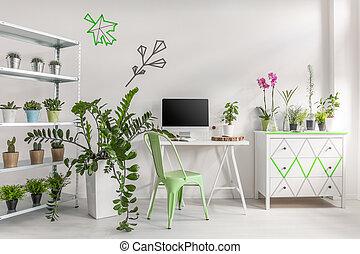 olhar, fazer, semelhante, sala, seu, jardim
