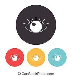 olho, ícone