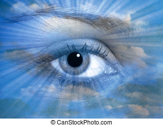 olho céu