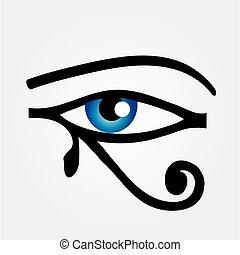 olho, horus