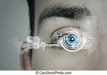 olho, identificação