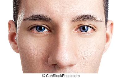olhos, amigável
